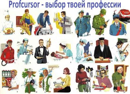 Профессии_выбор